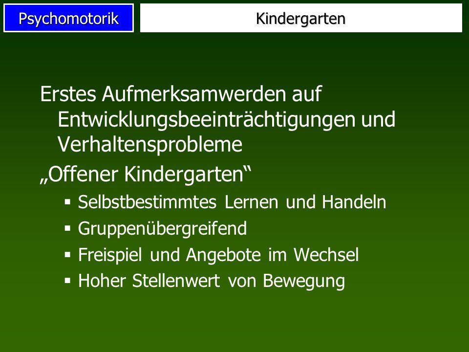 """""""Offener Kindergarten"""
