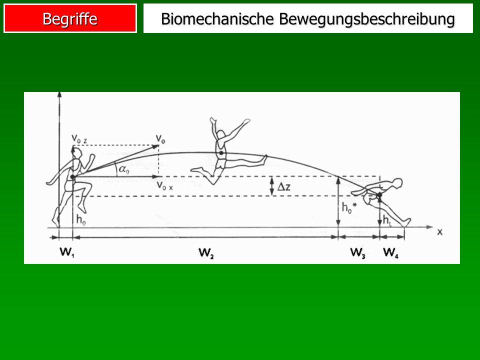 Biomechanische Bewegungsbeschreibung