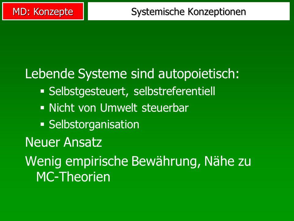 Systemische Konzeptionen
