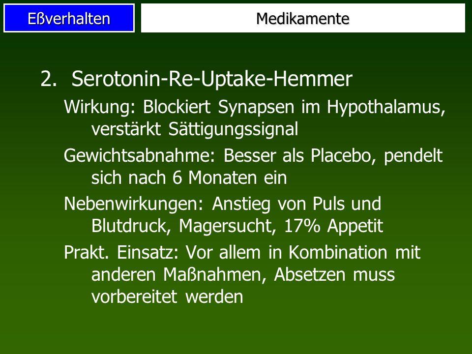 Serotonin-Re-Uptake-Hemmer