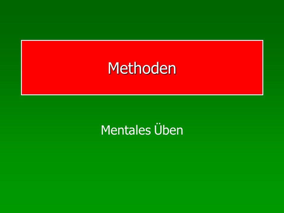 Methoden Mentales Üben