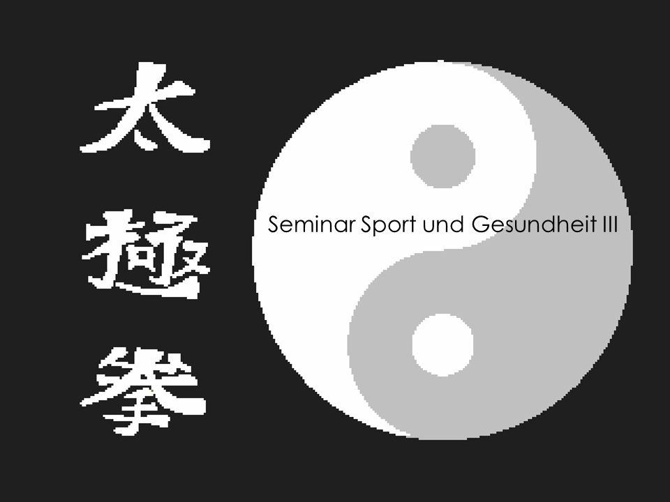 Seminar Sport und Gesundheit III