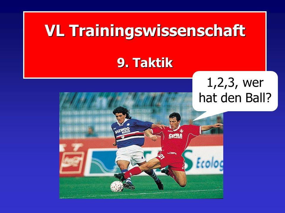 VL Trainingswissenschaft 9. Taktik