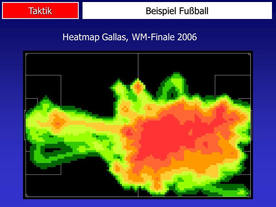 Beispiel Fußball Heatmap Gallas, WM-Finale 2006