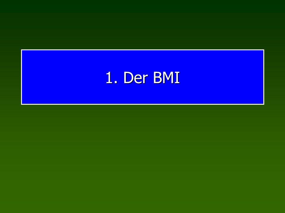 1. Der BMI