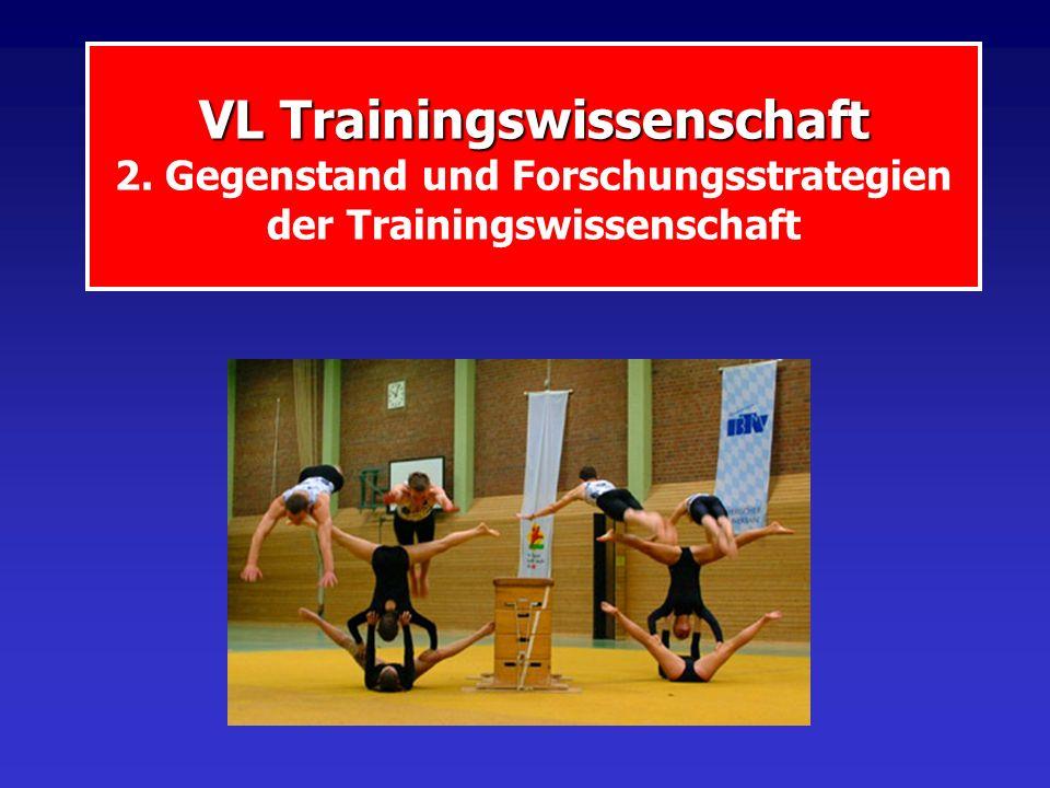 VL Trainingswissenschaft 2