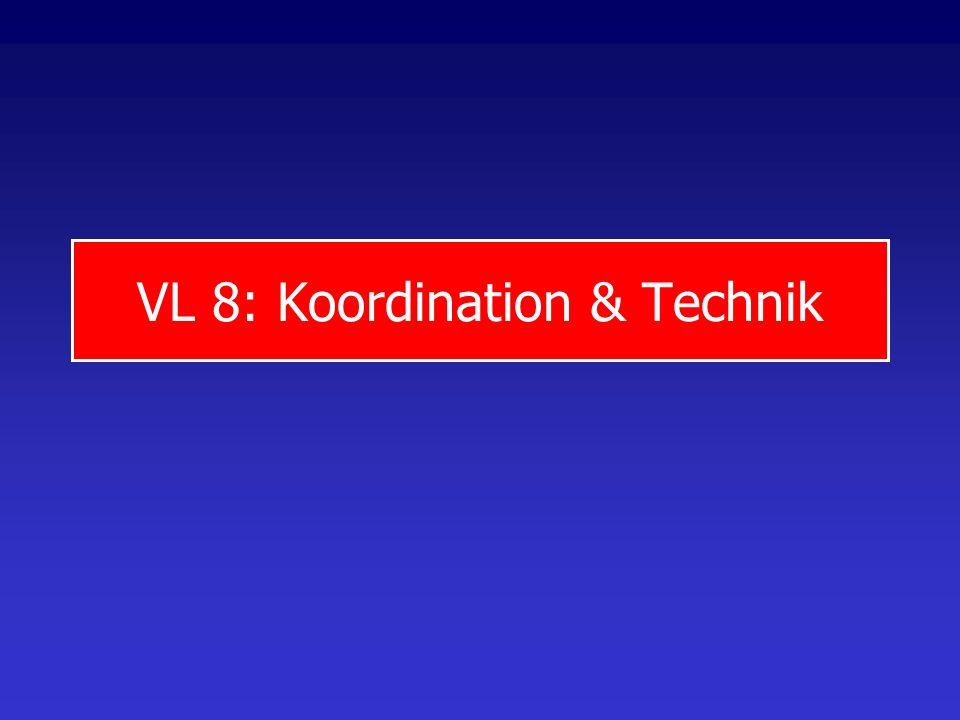 VL 8: Koordination & Technik