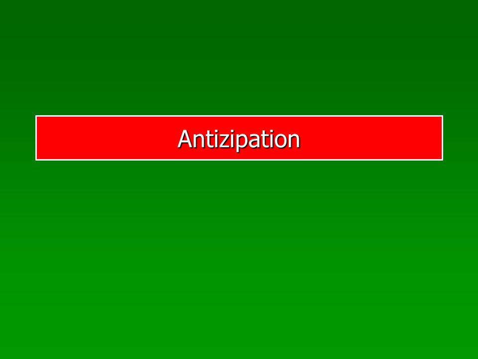 Antizipation