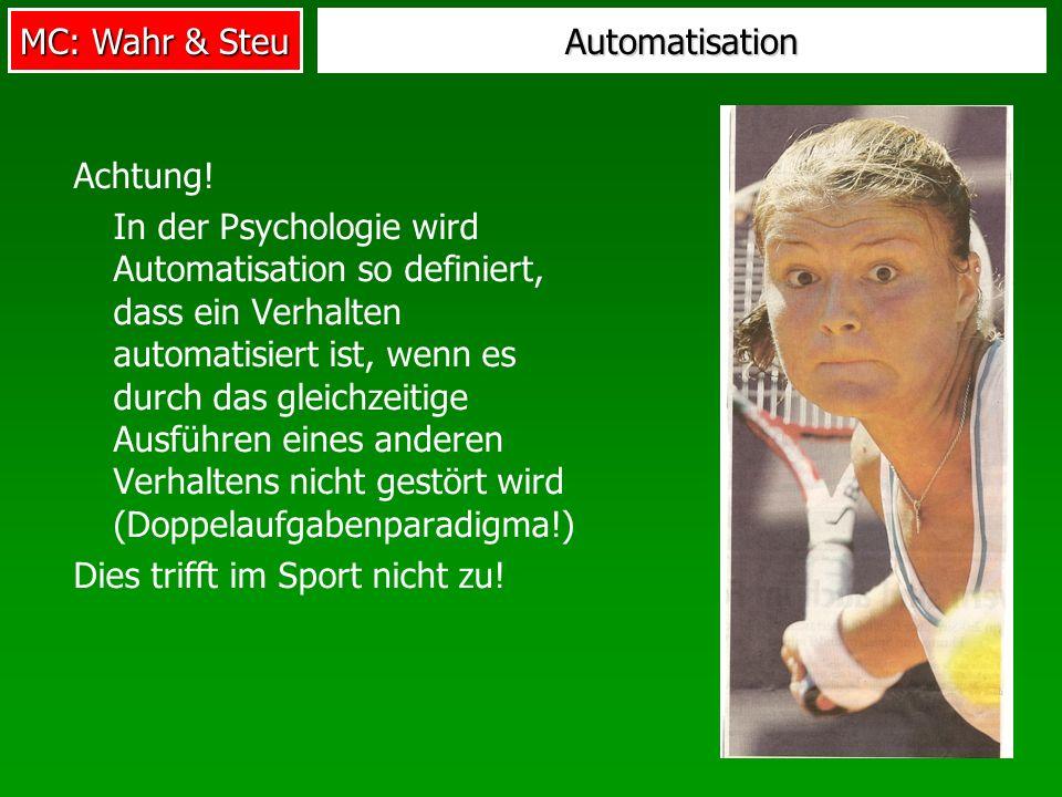 Automatisation Achtung!