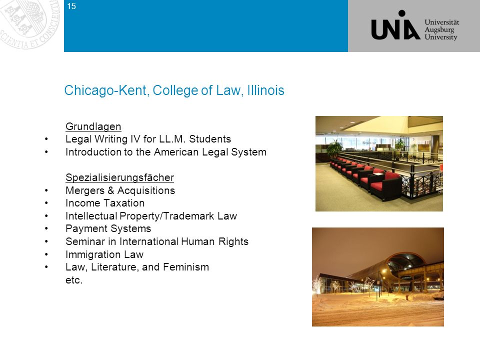 Chicago-Kent, College of Law, Illinois