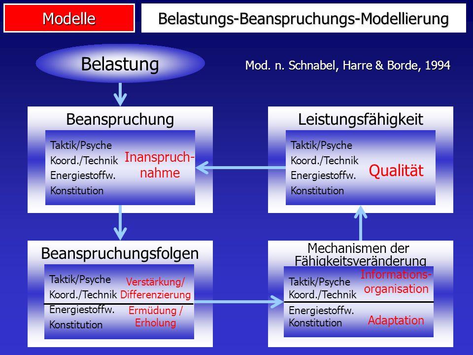 Belastungs-Beanspruchungs-Modellierung