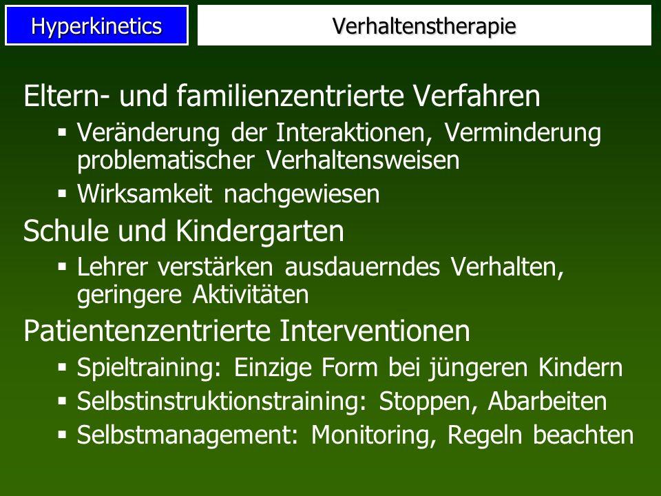 Eltern- und familienzentrierte Verfahren