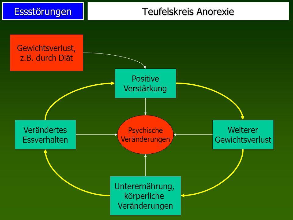 Teufelskreis Anorexie