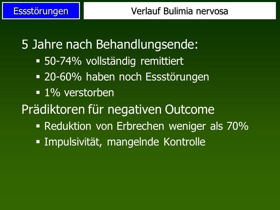 Verlauf Bulimia nervosa