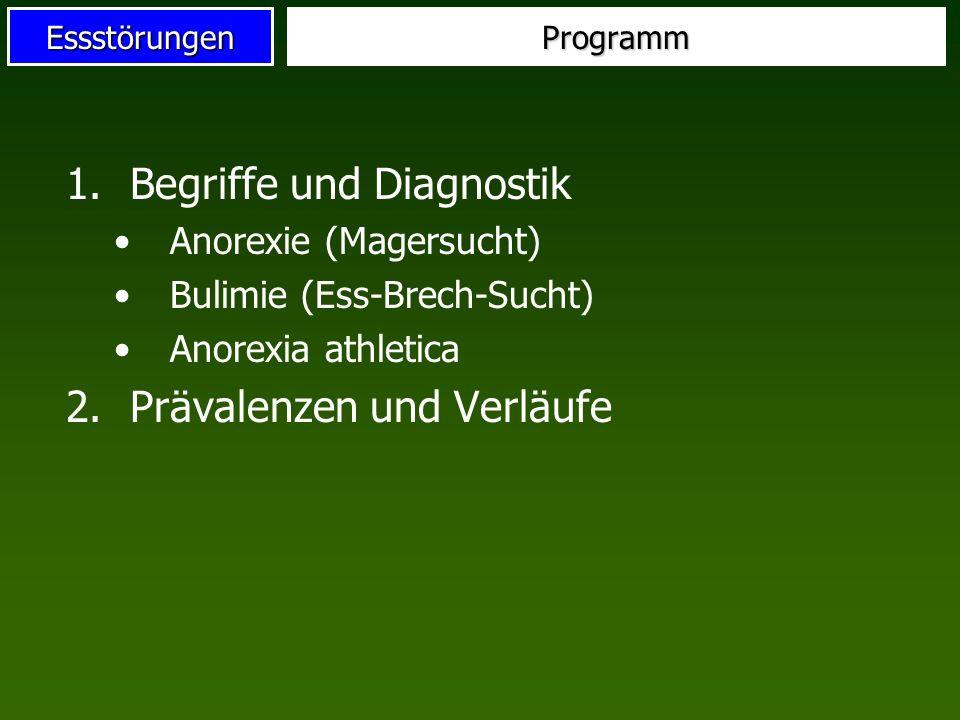 Begriffe und Diagnostik