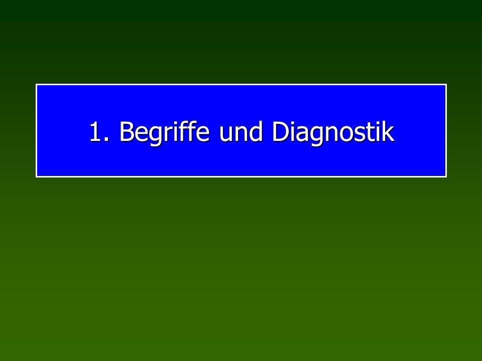 1. Begriffe und Diagnostik