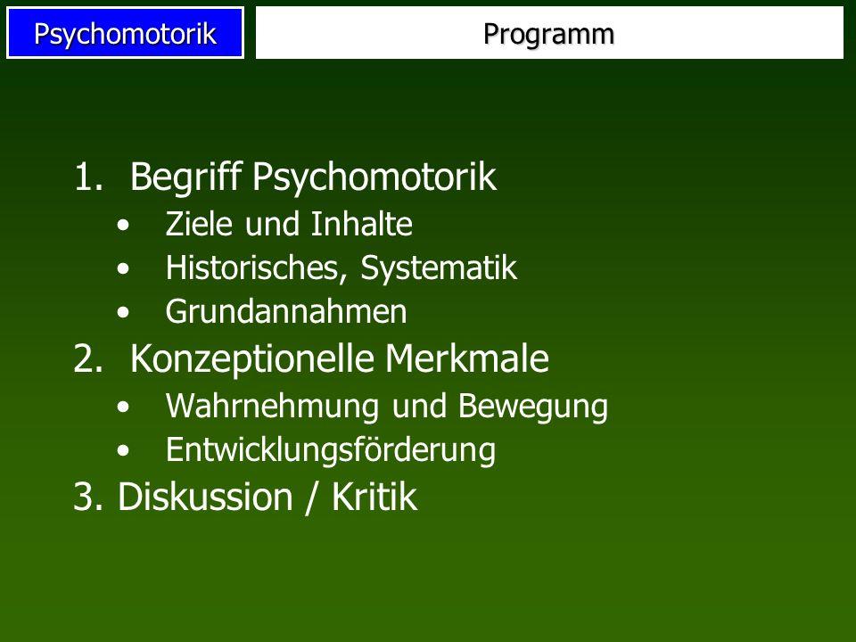 Begriff Psychomotorik