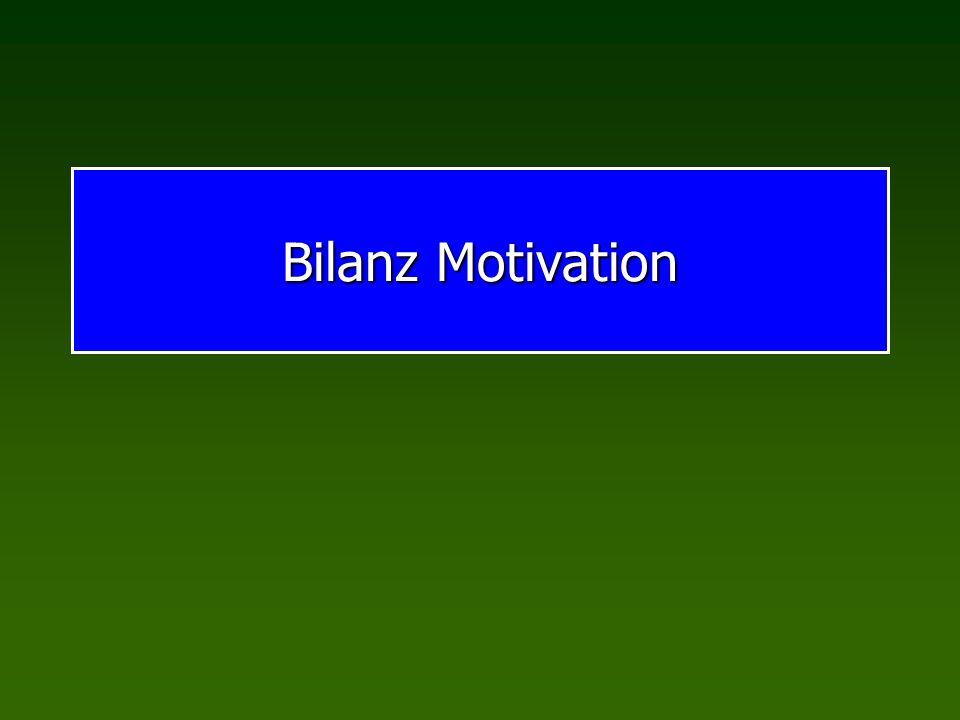 Bilanz Motivation