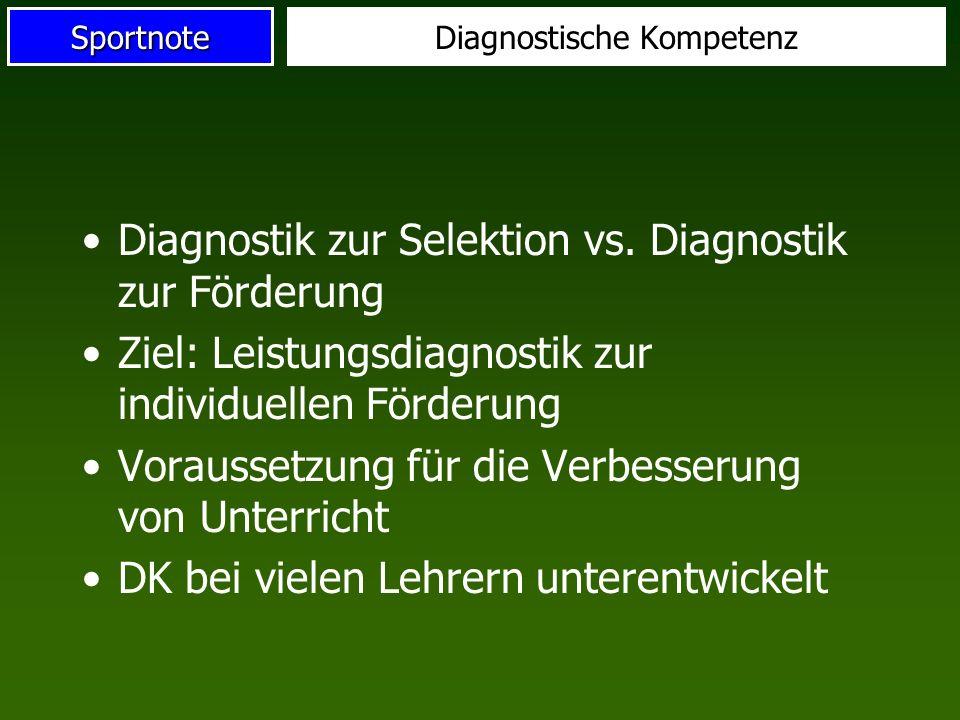 Diagnostische Kompetenz