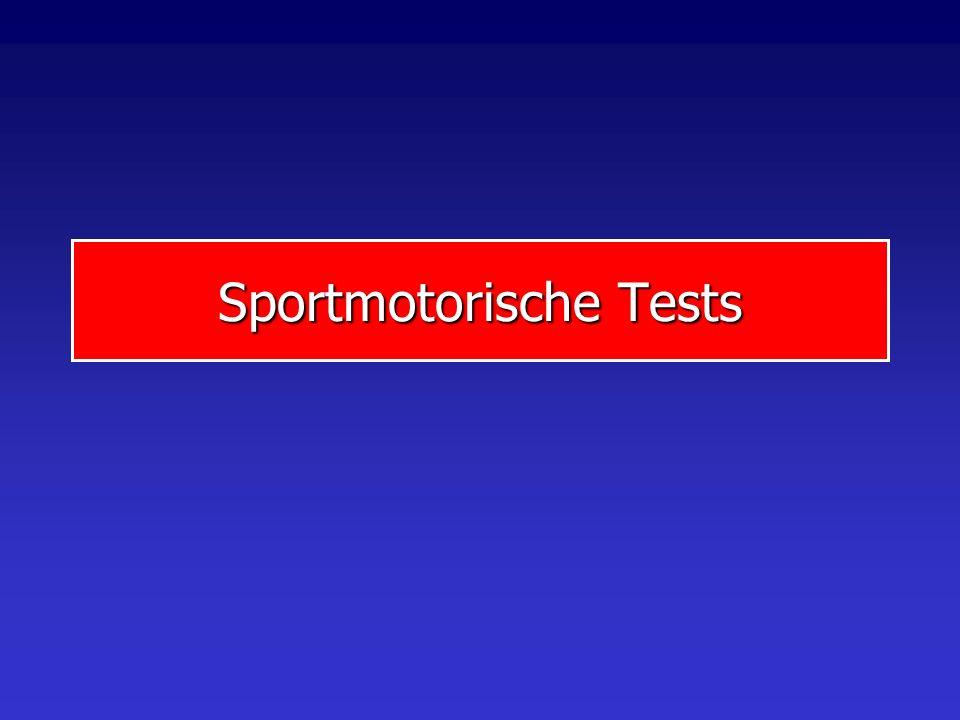 Sportmotorische Tests