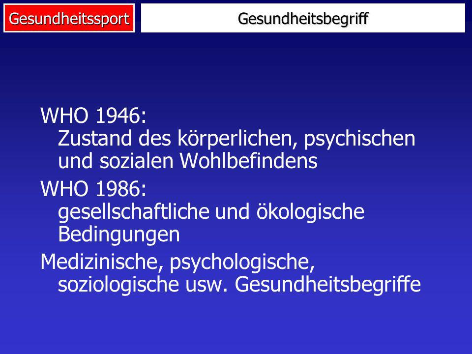 WHO 1986: gesellschaftliche und ökologische Bedingungen