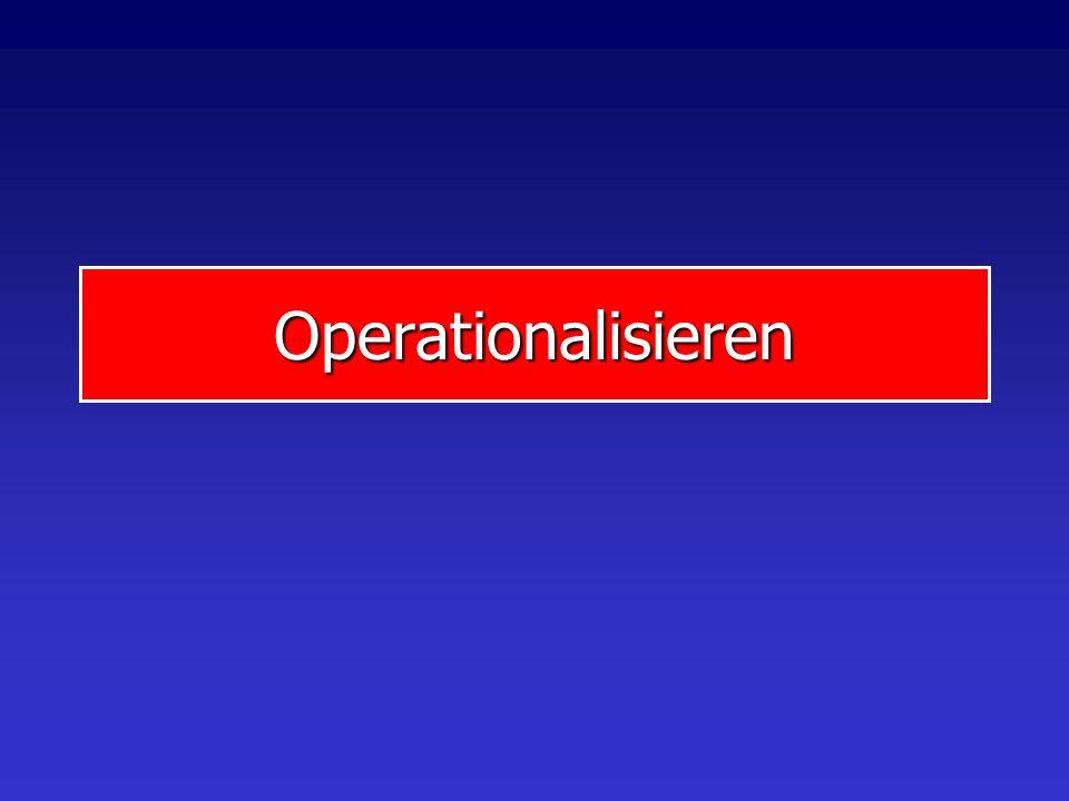 Operationalisieren