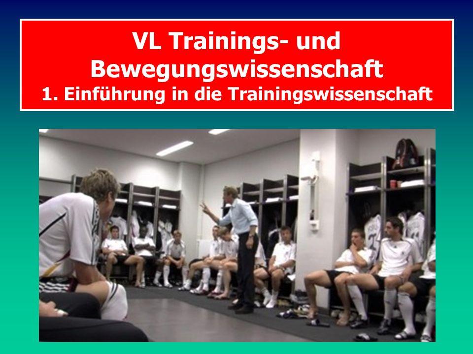 VL Trainings- und Bewegungswissenschaft 1