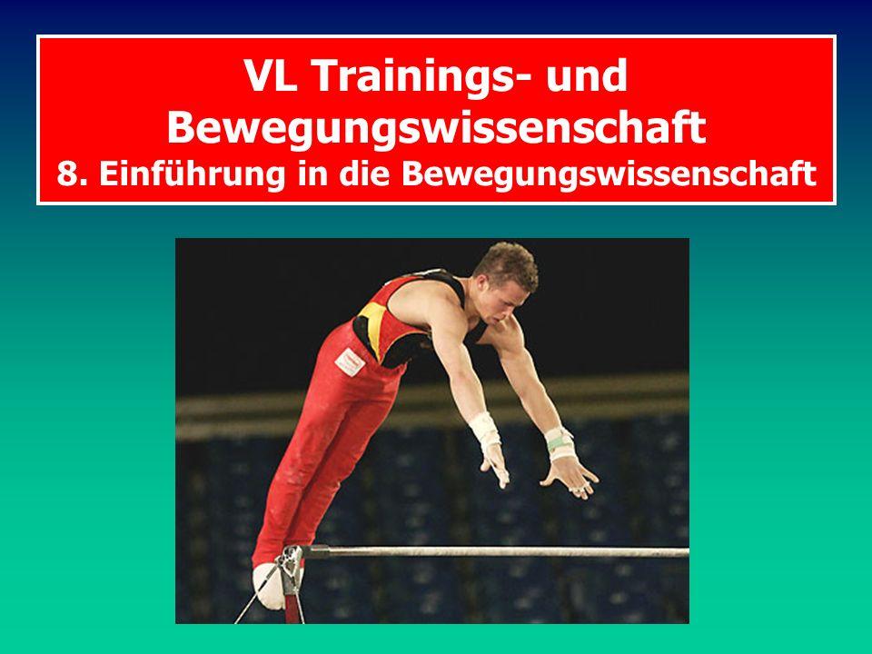 VL Trainings- und Bewegungswissenschaft 8
