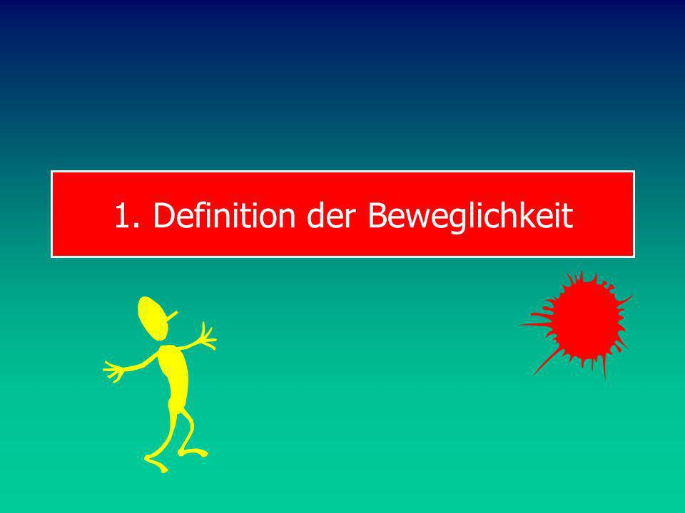 1. Definition der Beweglichkeit