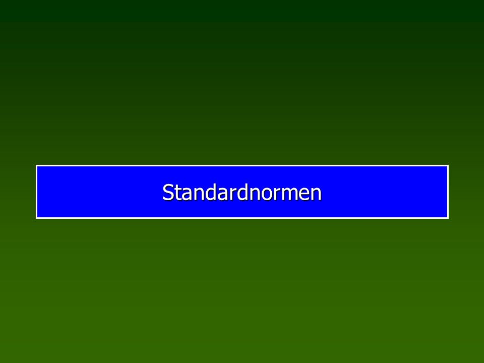 Standardnormen