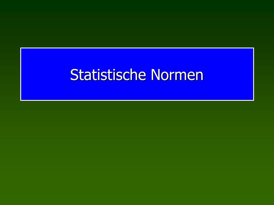 Statistische Normen