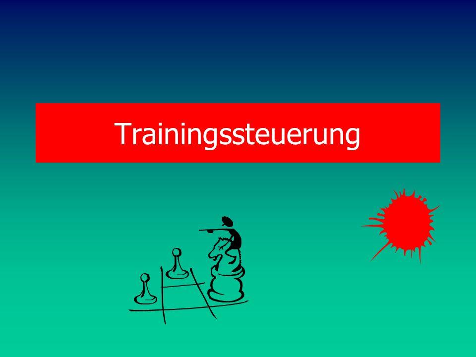 Trainingssteuerung