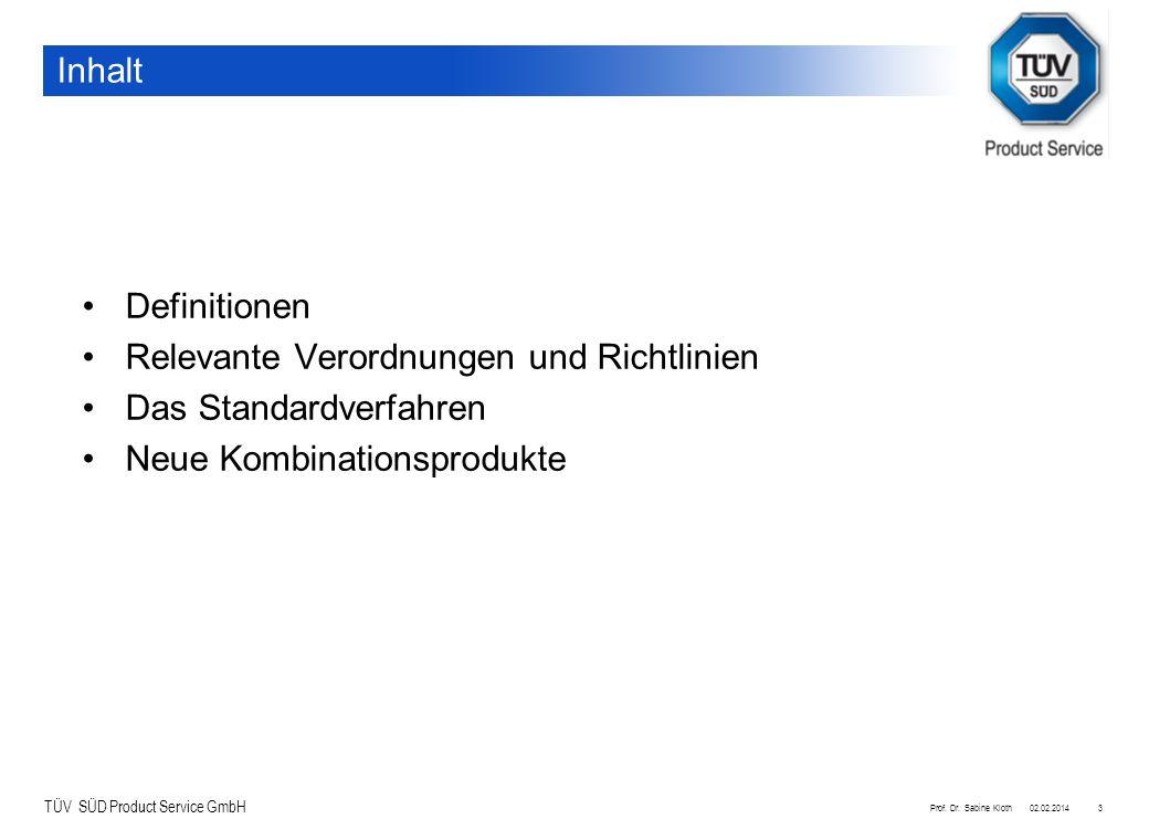 Relevante Verordnungen und Richtlinien Das Standardverfahren