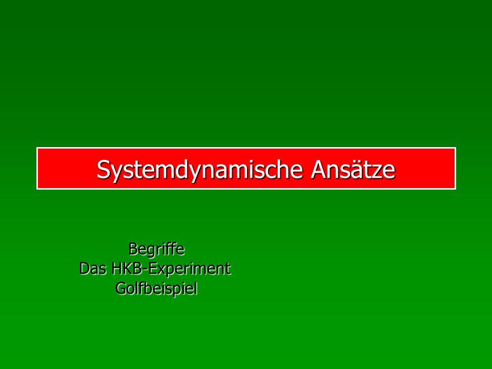 Systemdynamische Ansätze