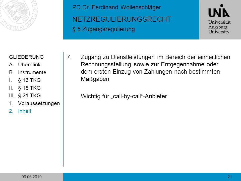 "Wichtig für ""call-by-call -Anbieter"