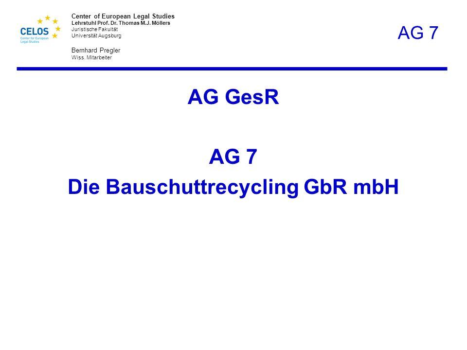 Die Bauschuttrecycling GbR mbH