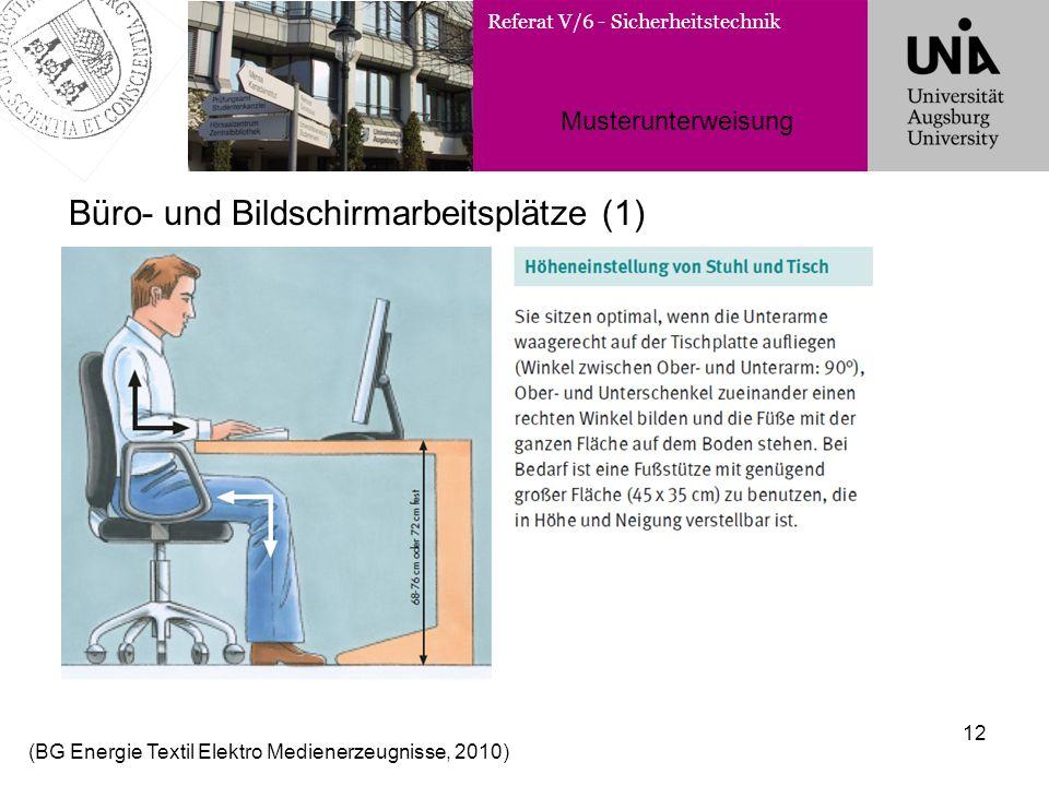 Büro- und Bildschirmarbeitsplätze (1)