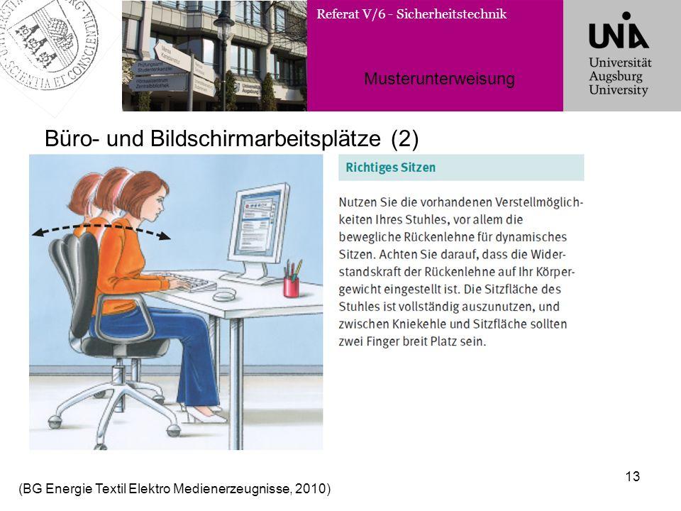 Büro- und Bildschirmarbeitsplätze (2)