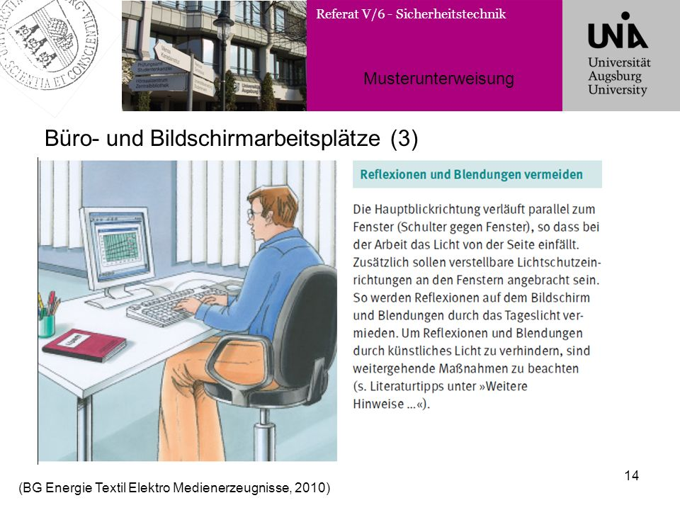Büro- und Bildschirmarbeitsplätze (3)