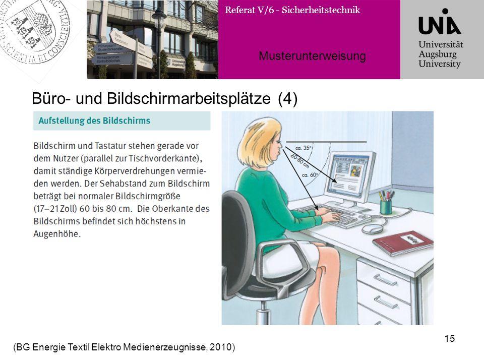Büro- und Bildschirmarbeitsplätze (4)