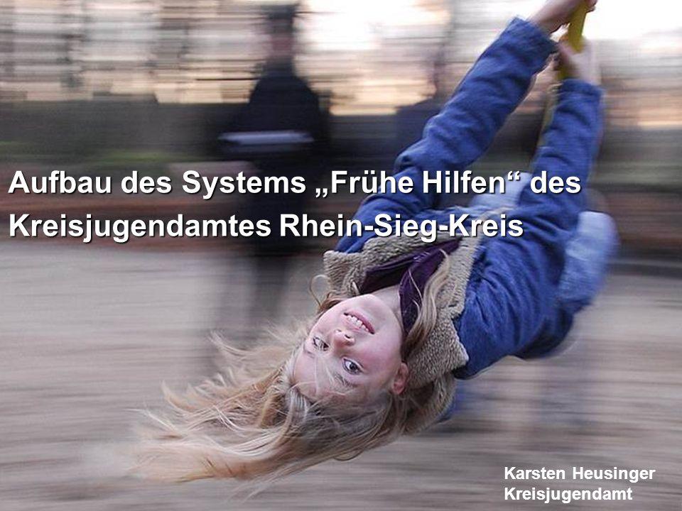 """Aufbau des Systems """"Frühe Hilfen des"""