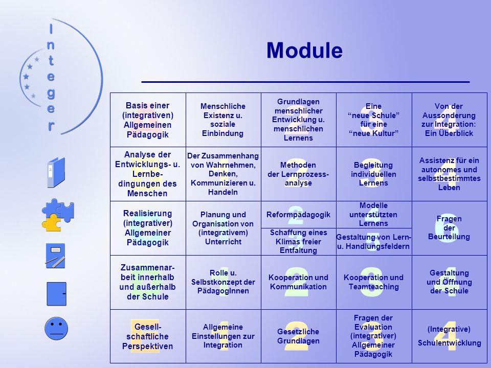 Basis einer (integrativen) Allgemeinen Pädagogik