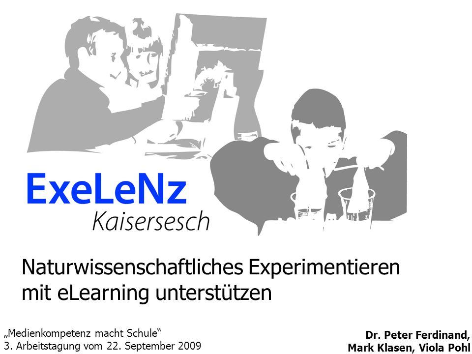 Naturwissenschaftliches Experimentieren mit eLearning unterstützen