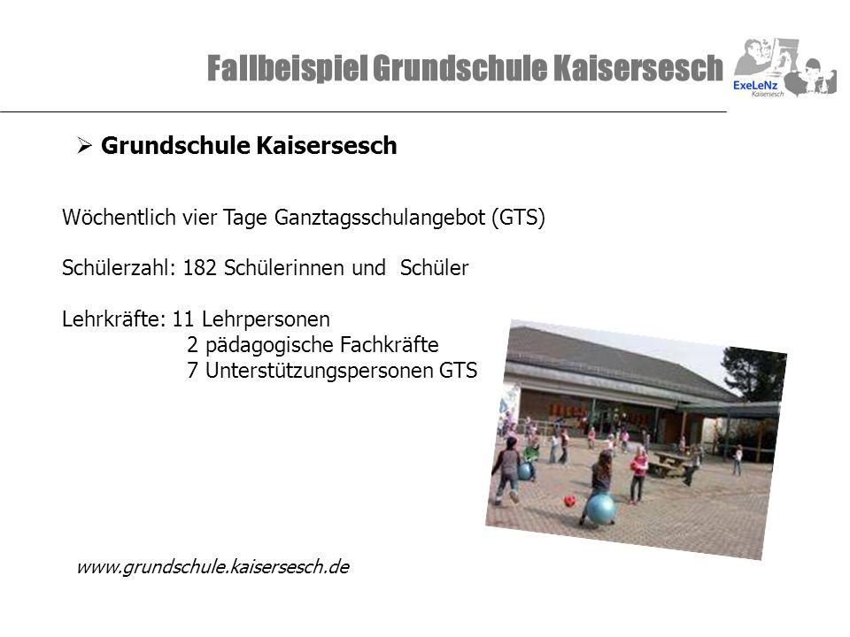 Fallbeispiel Grundschule Kaisersesch
