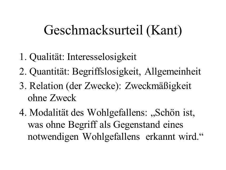 Geschmacksurteil (Kant)