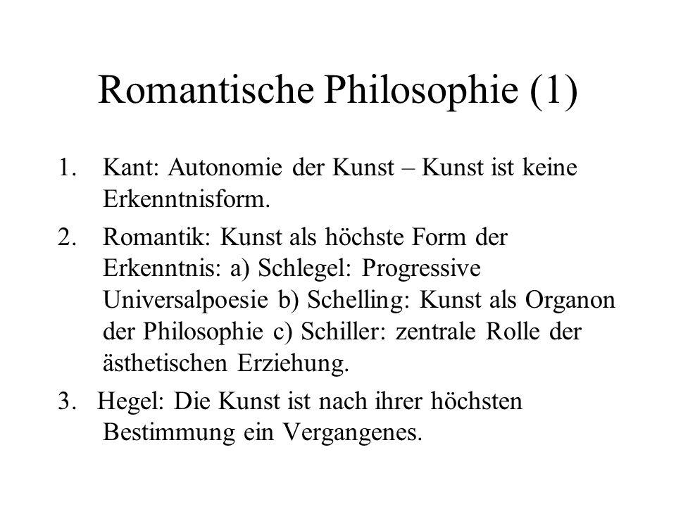 Romantische Philosophie (1)