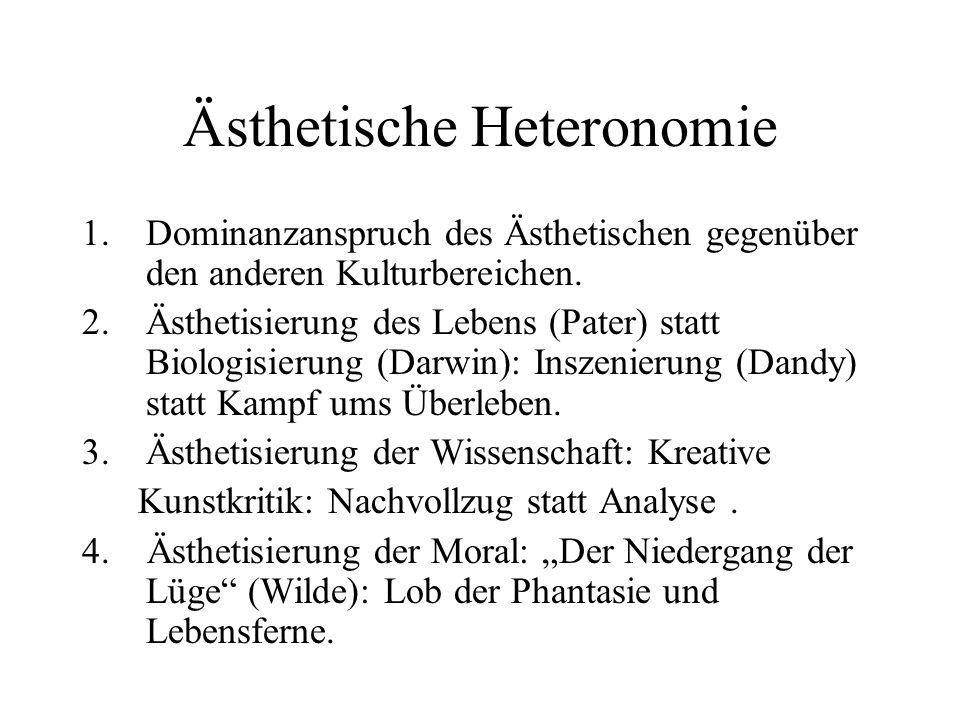 Ästhetische Heteronomie