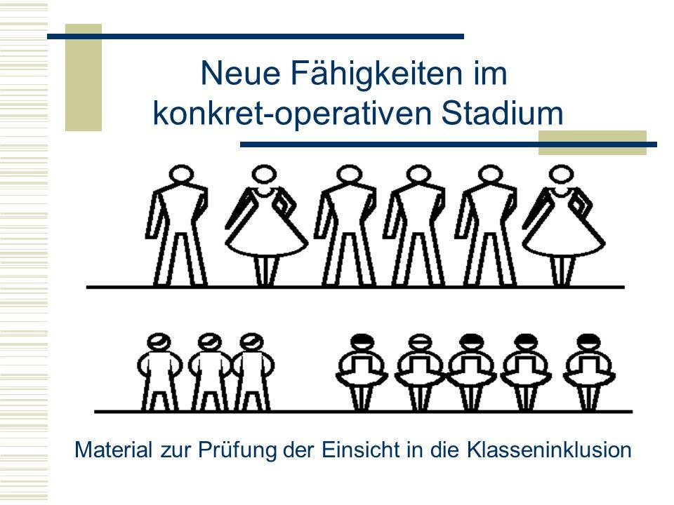konkret-operativen Stadium