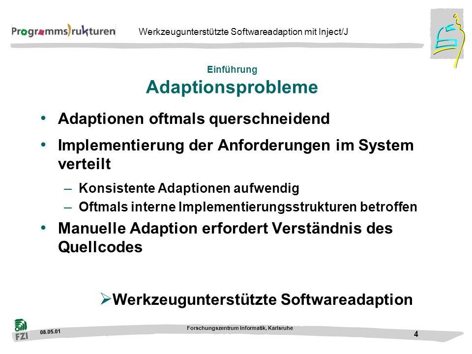 Einführung Adaptionsprobleme
