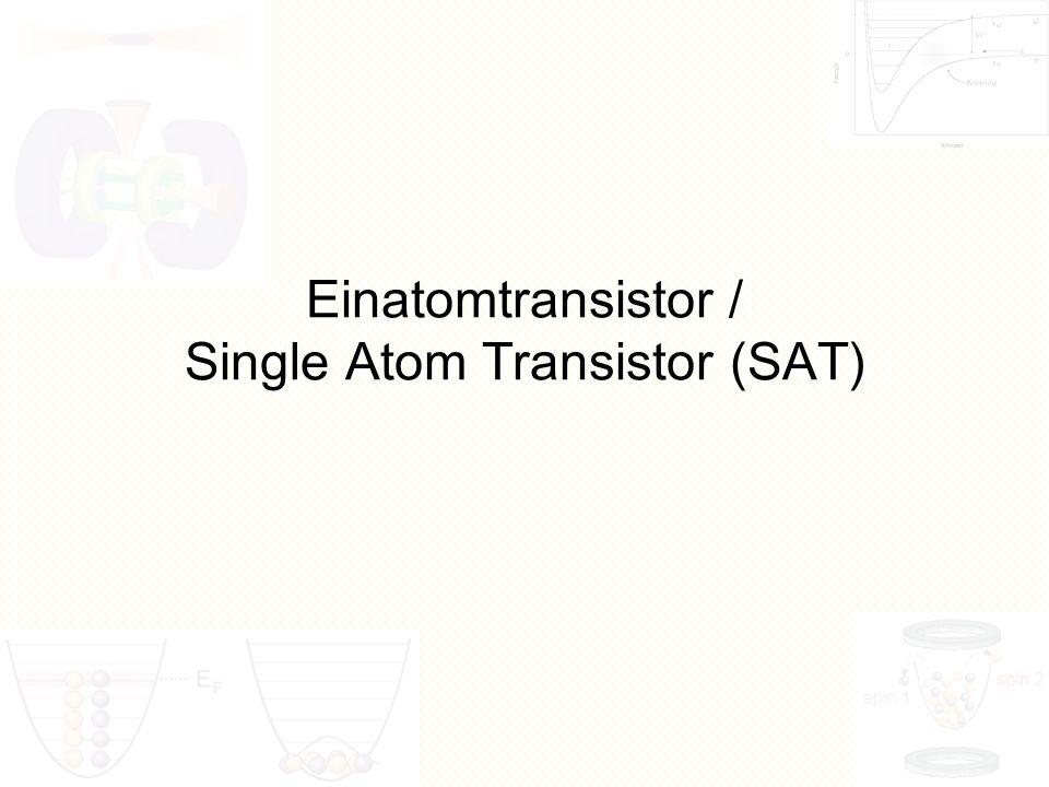 Single phosphorus atom transistor